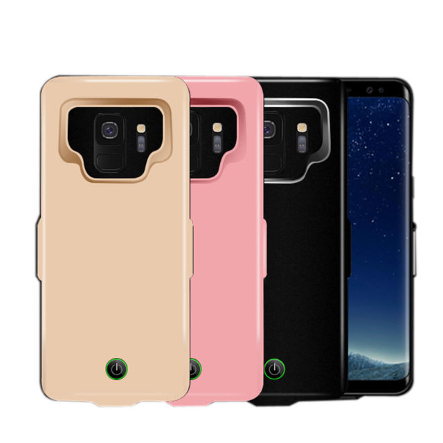 sports shoes 371f2 1cabd US $26.39 |2018 7000mAh Extended Phone Battery Case Cover Charging for  Samsung Galaxy S9/S9Plus+ power case-in Battery Charger Cases from  Cellphones & ...