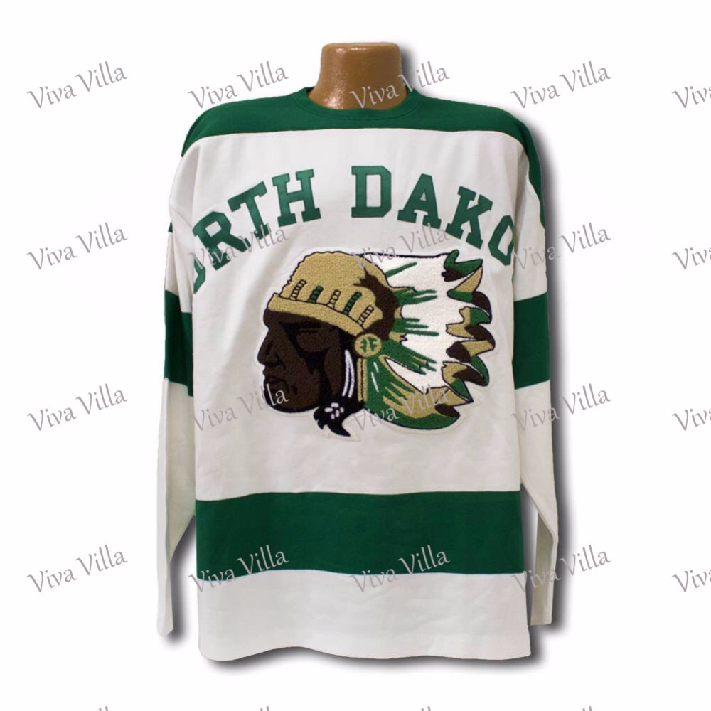 1954 North Dakota Sioux jersey 14  All Stitched Custom Any Name And Any Number Men's Throwback Hockey Jersey Free Shipping hockey jersey custom any name any number high quality stitched logos men throwback ice hockey jersey s 4xl free shipping