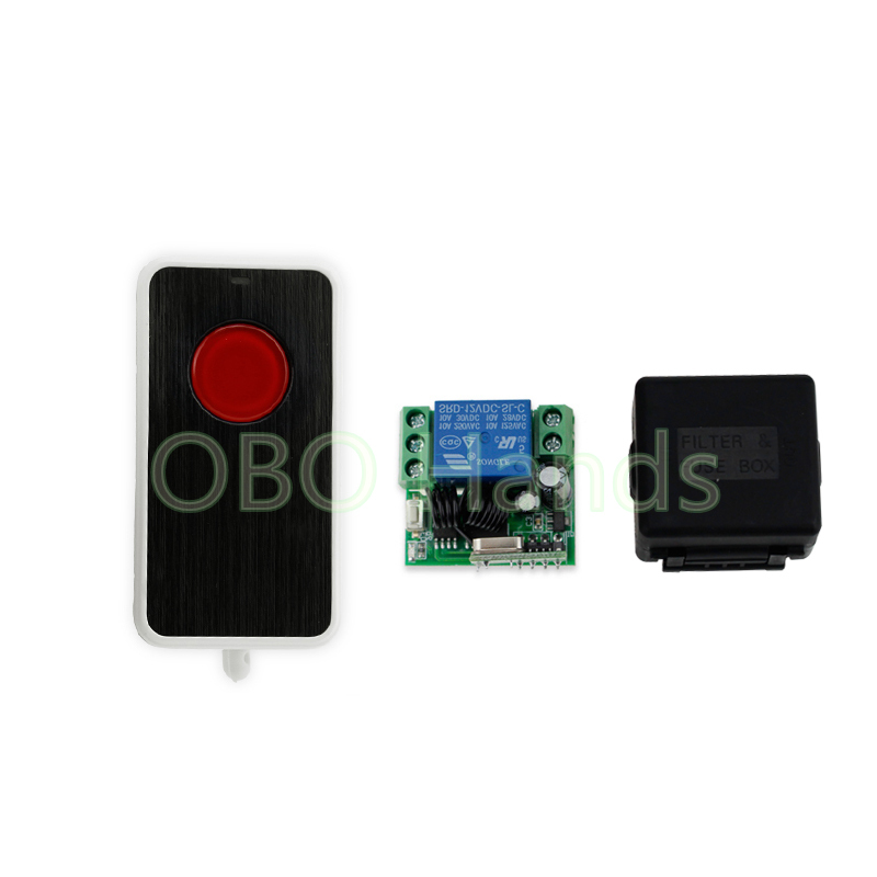 New arrival 315/433MHz 12V wireless remote control switch with receiver module for door lock long distance up to 50m-SL311