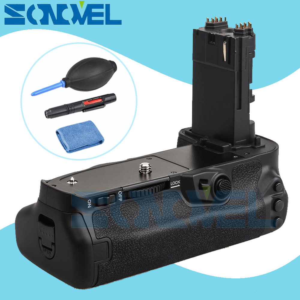 Meike MK-5D4 Vertical Battery Grip for Canon EOS 5D mark IV as BG-E20 Compatible Camera works with LP-E6 or LP-E6N Battery meike mk 760d pro built in 2 4g wireless control battery grip suit for canon 750d 760d as bg e18