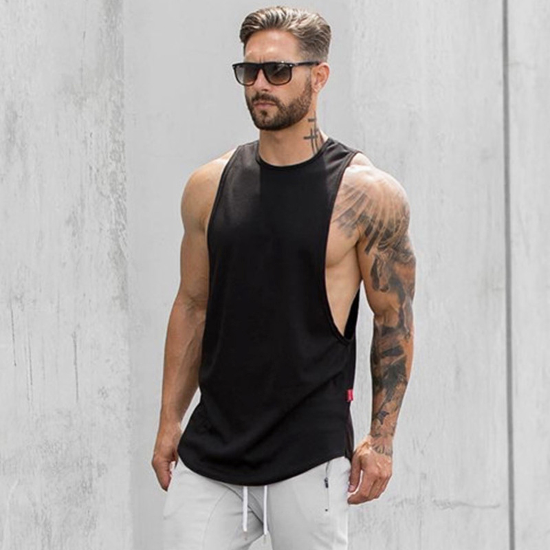 men sleeveless t shirt