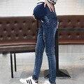 Calça Jeans Elásticos das calças de Brim de Maternidade Calças de Maternidade de alta Qualidade Confortáveis Para As Mulheres Grávidas