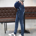 High Quality  Maternity Denim Pant Maternity Elastic  Jeans  Trousers  Comfortable For Pregnant Women