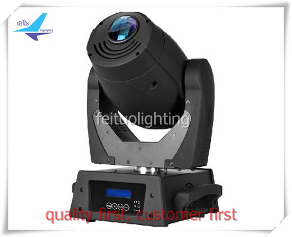 (2pcs+flight case) free shipping sound active dj lighting led spot 120w moving head lights for sale
