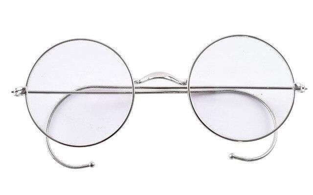 b0d7f2507b26e Agstum 49mm Fio Aro Prescrição Óptica Rodada Rare Estilo Harry Potter Óculos  de Armação Sem Óculos