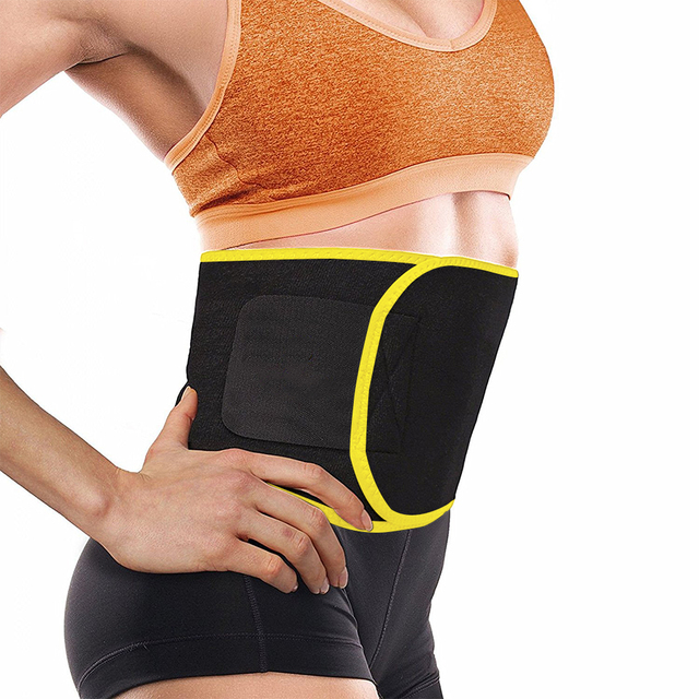 New Grade Adjustable Waist Trimmer Sweat Belt Shaper Slimming Wraps Perfect for Exercise Belly Weight Loss 5mm Thickness 1