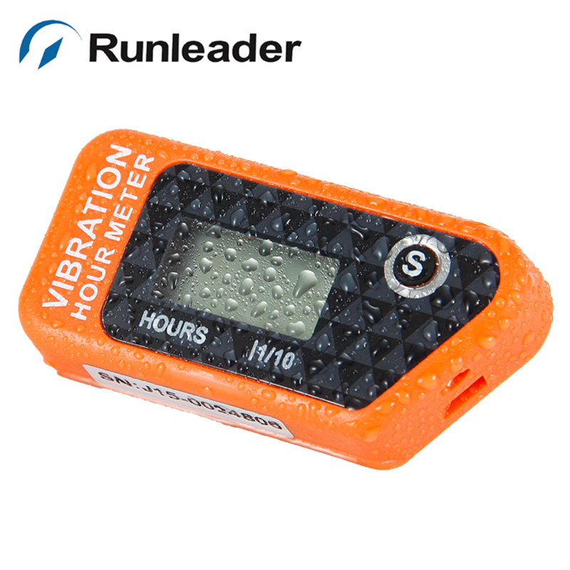 RL-HM016B Reset Wireless Vibration Hour Meter For Any Device boat jet ski tractor motorcycle buggy go cart marine dirt quad bike