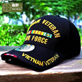 HAN WILD WW2 Vietnam Vintage Cotton Gorras Outdoor Memorable Air Force Cap Snapback Letter Tactical Baseball Cap US Army Hats