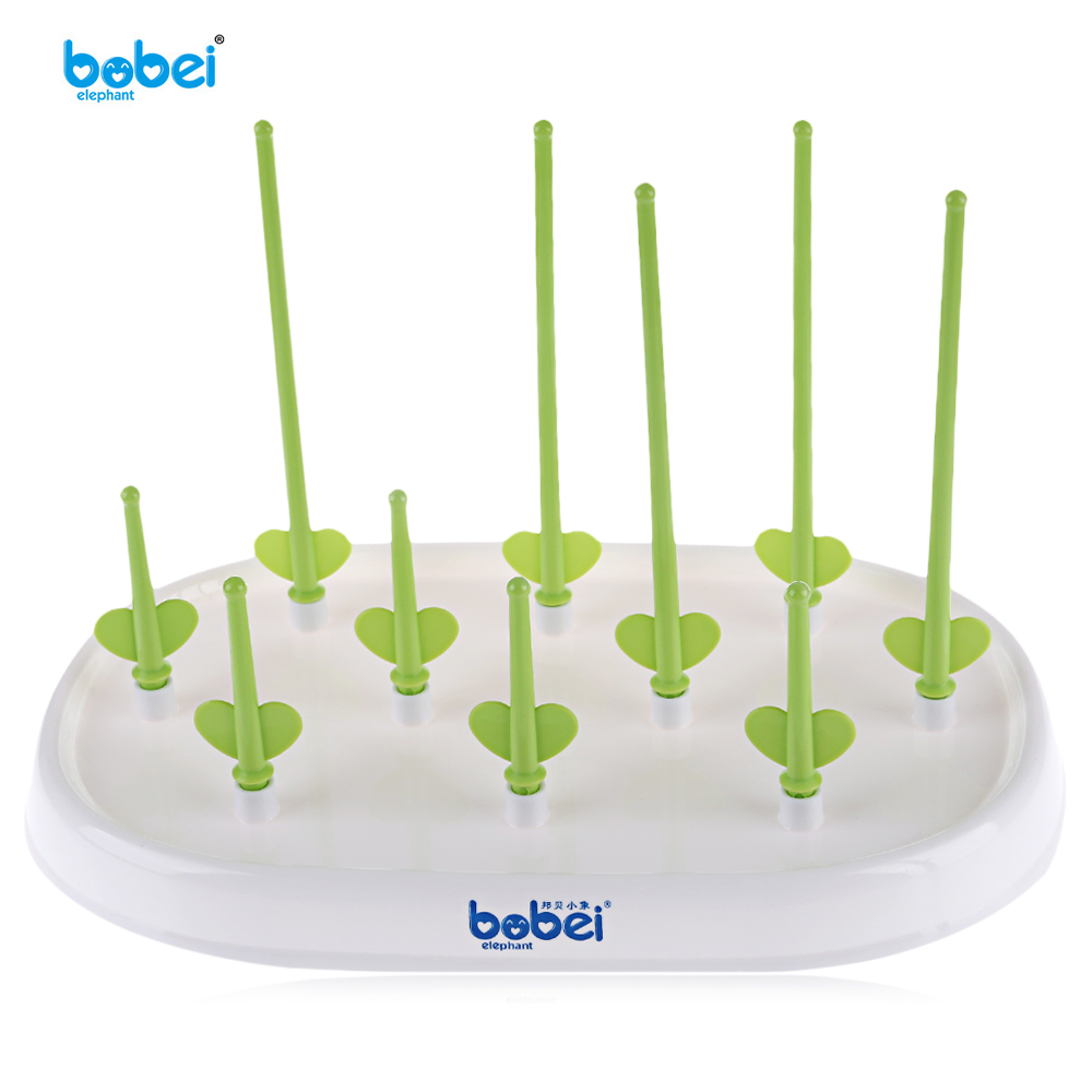 BOBEIELEPHANT Baby Bottle Drying Rack Detachable Multi-Functional Storage Nipple Shelf Baby Pacifier Feeding Cup Holder 2 styles