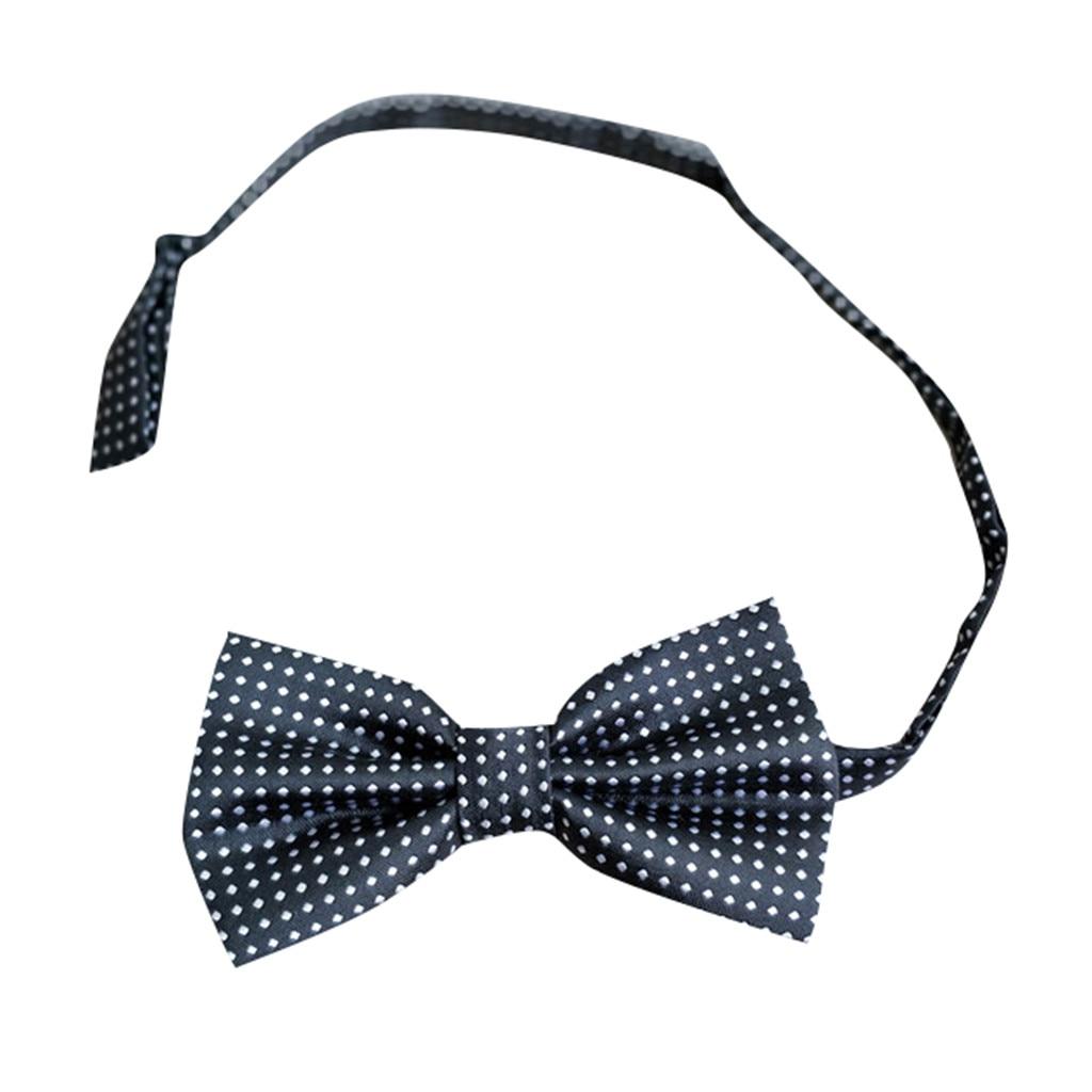 Einstellbar Mode Männer Formale Dot Bowtie Neuheit Smoking Krawatte Fliege Pajaritas Para Hombre Noeud Papillon # Sys GläNzende OberfläChe