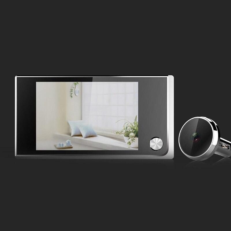 Judas numérique Sonnette caméra de sécurité Électronique Cat Eye 3.5