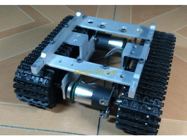 Track Tracked tank chassis smart car robot obstacle avoidance car Raspberry Pi diy tracked robot