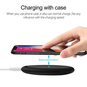 Image 2 - NTONPOWER Qi Caricatore Senza Fili Per iPhone X XR XS 8 più di 10 W Wireless Veloce pad di Ricarica per Samsung Xiaomi huawei