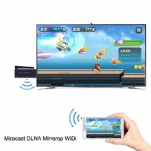Miracast HD WiFi Display TV Media Wireless Receiver 1080P HDMI AirPlay DLNA