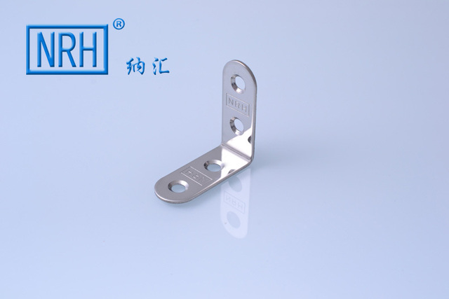 NRH7907B-40 SUS 304 stainless steel furniture bracket partition bathroom door bracket price high quality horizontal bracket