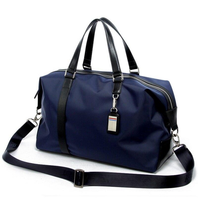 Men Waterproof Luggage Bag Large Capacity Male Big Weekend Bag Travel  Duffle Tote Nylon Shoulder Bags Overnight Bag Man Handbag - aliexpress.com  - imall.com 3facf91d055a1