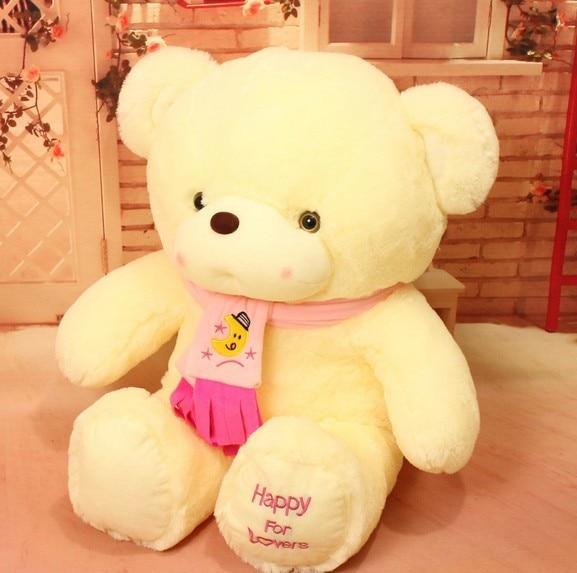 Cute White Teddy Bears With Hearts Wwwpixsharkcom