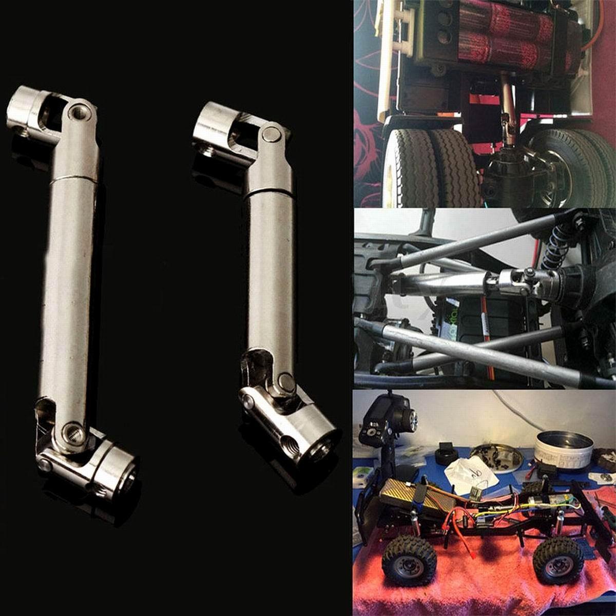 Acero eje CVD resistente 90-115mm 110-155mm para 1/10 RC coche Rock ...
