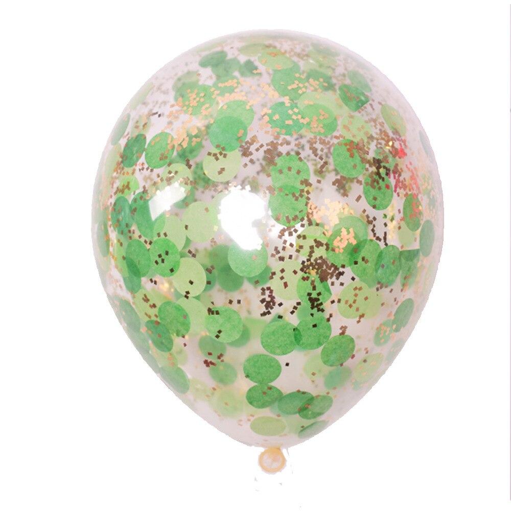 5 шт./лот золотые блестки воздушные шары конфетти Прозрачные Шары с днем рождения ребенка мультфильм шляпа Свадебная вечеринка украшения - Цвет: 6