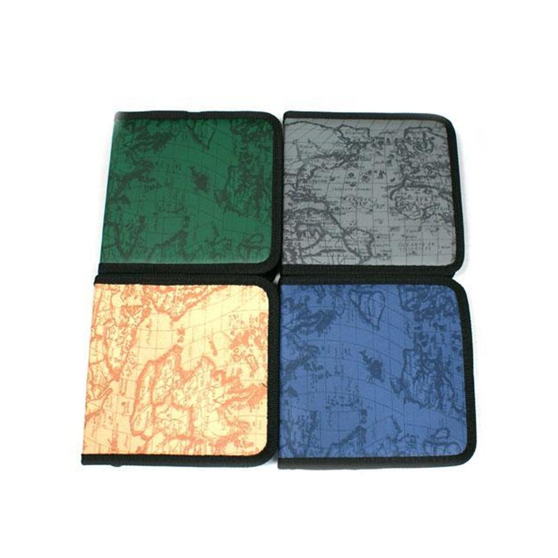 40 CD DVD Disc Storage Holder Carry Case Organizer Sleeve Wallet Cover Bag Box DVD Storage Album CD Box Cases