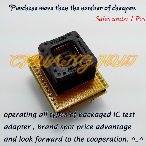 PLCC28 DIP28 Programmer adapter PLCC28 to DIP28 adapter Socket