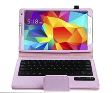 Detachable Removable Wireless Bluetooth Keyboard Leather Stand Case Cover For Samsung Galaxy Tab S 8.4 T700 T705 8.4″ Tablet