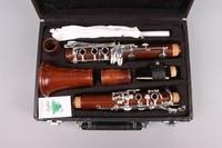 New Professional Clarinet Rosewood Wood Body Nickel Plated Key B flat 17 key Bb
