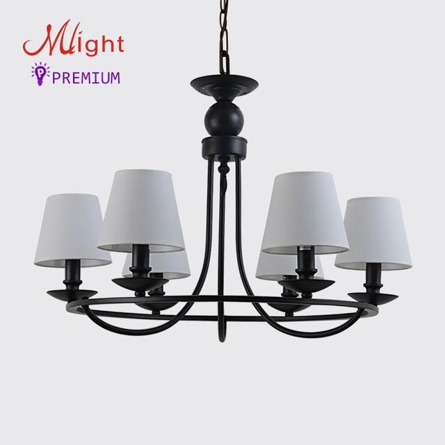 6 Arme Moderne Einfachheit Kronleuchter Einfache Stoff Schlafzimmer Lampe  Traditionellen Stil Kronleuchter Für Wohnzimmer