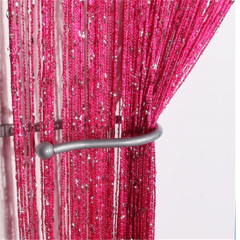 new design sheers door flower curtain window room drape divider floral scarf valance voile gift free
