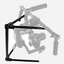 CNC Aluminum Universal Balance DSLR Gimbal Tuning Stand Support 5kg for DJI Ronin m Ronin-M G10 G15 Simple BGC 32-bit Stabilizer