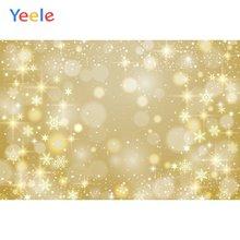 Yeele обои для вечеринки Золотой боке Блестящий Фон фотографии