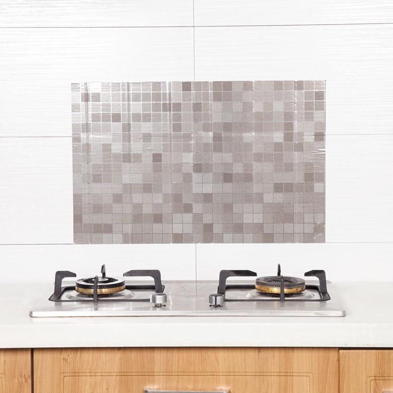 70 45cm Kitchen Foil Oil Sticker Decal Bathroom Wall