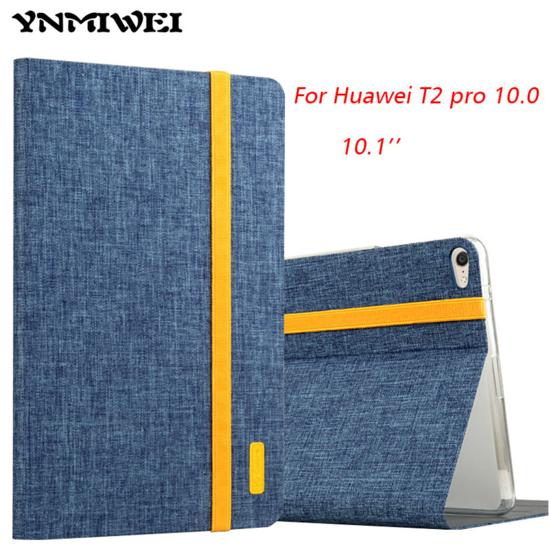 For Huawei Mediapad T2 Pro 10.0 FDR-A01W FDR-A03L Flip Cover Case Stand Fundas Protective Skin Shell For Huawei T2 Pro 10.1 Inch