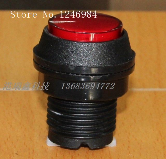 [SA]Video game consoles accessories small round button red button hypotenuse mainframe computer switch button--20pcs/lot