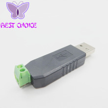 Free Shipping USB to RS485 485 Converter Adapter Support Win7 XP Vista Linux Mac OS WinCE5.0(China (Mainland))