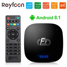 10 pcs lot Android 8.1 Smart TV Box A95X F1 Amlogic S905W Qu