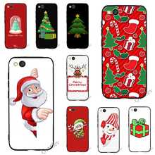 Colorful Merry Christmas Phone Cover for Xiaomi Mi A1 Case A2 Lite 6 8 F1 Covers