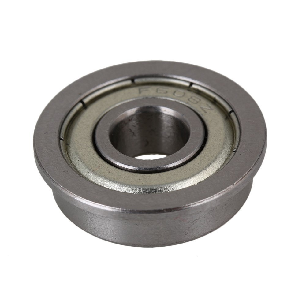 Pack of 20 High Precision Steel Shielded Flanged Ball Bearing <font><b>F608ZZ</b></font> Model image