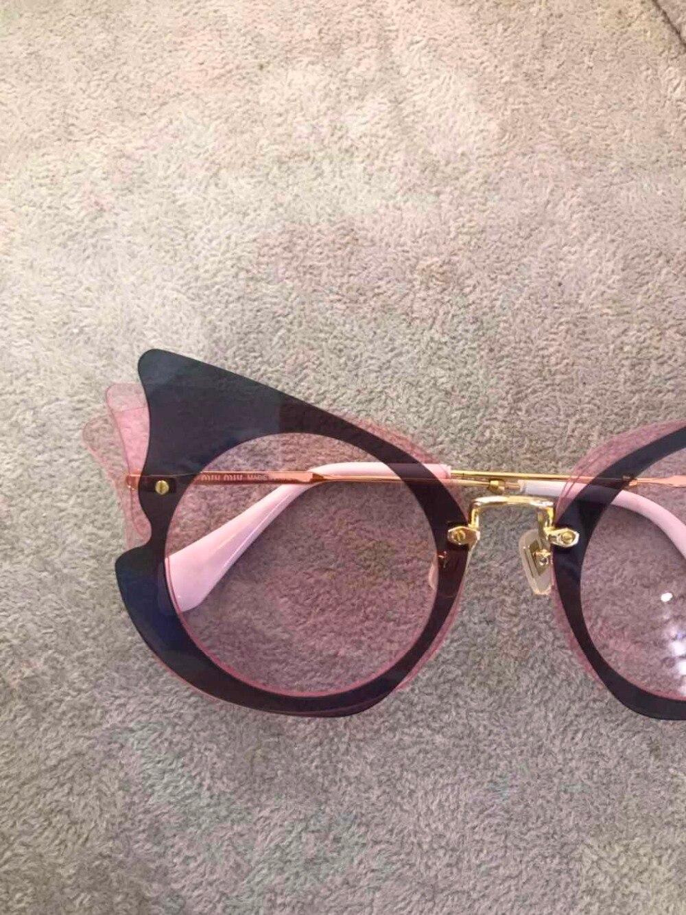 Luxus Marke Designer Carter Für Runway 2019 Sonnenbrille Gläser Frauen K0303 qp456Owx