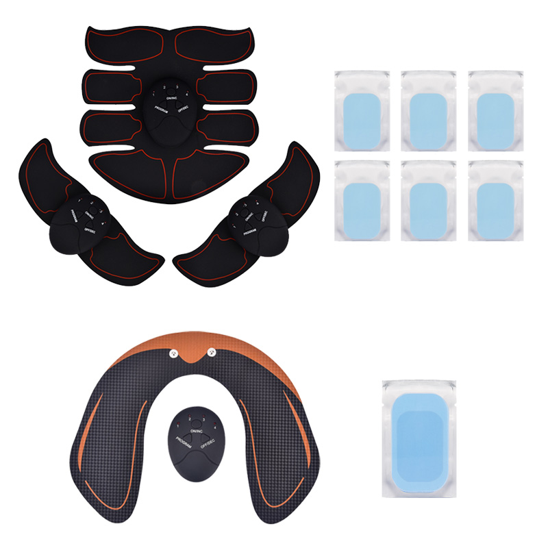 Smart EMS Hips Trainer Electric Muscle Stimulator Wireless Buttocks Abdominal ABS Stimulator Home Fitness Body Slimming
