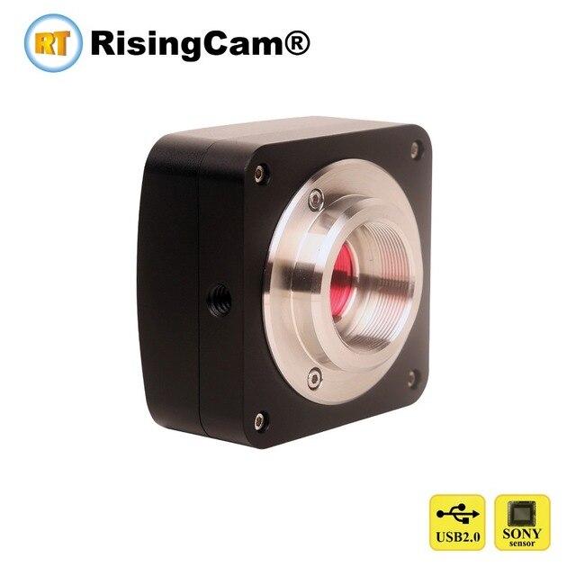 5.3MP USB2.0 Sony Cmos Imx178 Sensor C Mount Usb Digitale Microscoop Camera