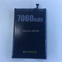 100% オリジナルバッテリー DOOGEE BL7000 バッテリー 7060mAh 高 capacit 長い待機時間 DOOGEE BL7000 携帯アクセサリー