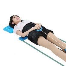 Eficiente Da Coluna Cervical Da Coluna Lombar Cama Tração para Lumbago Dor Lombar Terapia Massagem Corporal Dispositivo de Alongamento
