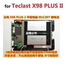 Батарея для Teclast X98 плюс II 2 Tablet PC Литий-полимерный перезаряжаемый аккумулятор замена 3,8 V 3 линии C2D7 2879127