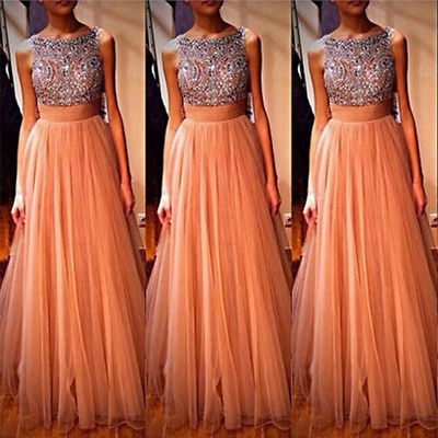 Aliexpress.com : Buy Hot Tulle Sequins Formal one piece dresses Ball ...