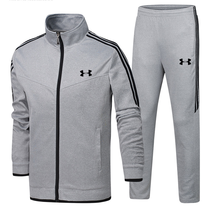 Training Jacket Men Under Armour Jacket+Pants 2 Pieces Survetement homme Training Running Sets Sports Suits Size L-4XLTraining Jacket Men Under Armour Jacket+Pants 2 Pieces Survetement homme Training Running Sets Sports Suits Size L-4XL