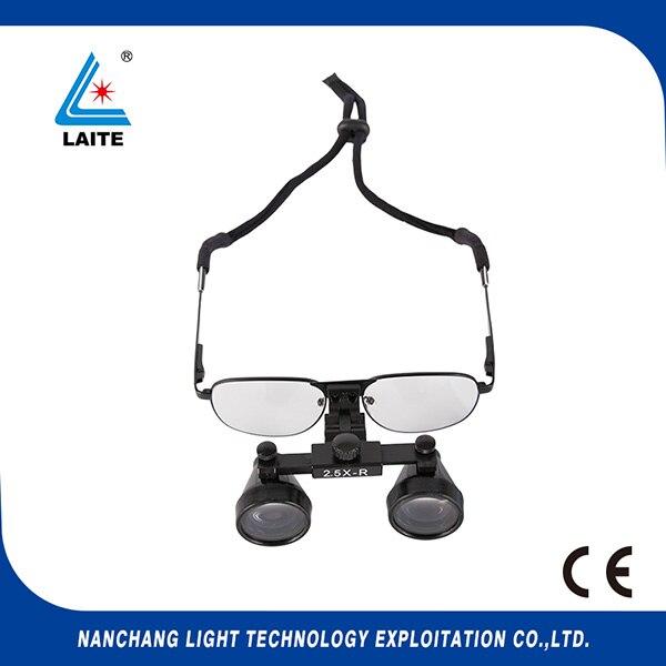 Binocular cirúrgica dental lupas 2.5x-r óculos de ampliação lupa para venda  frete grátis-1set 523a67e88e