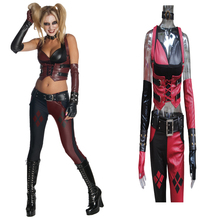 Newest Disfraz Harley Quinn Costume Halloween Batman Funko Pop Suicide Squad Harley Quinn Cosplay Costume Harley Quinn Top Pants
