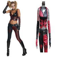 Newest Disfraz Harley Quinn Costume Halloween Batman Funko Pop Suicide Squad Harley Quinn Cosplay Costume Harley