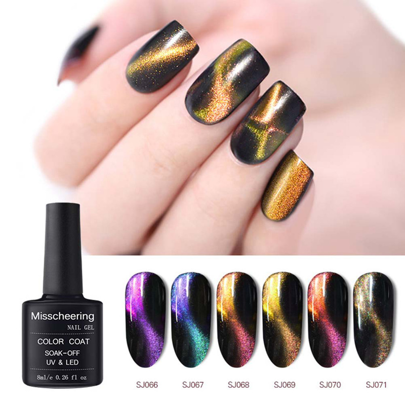 Beauty & Health Radient Vrenmol Magnetic Cat Eye Gel Nail Polish 3d Magic Change Manicure Gel Varnish Color Magnet Stick Nails Professional Uv Led Gel